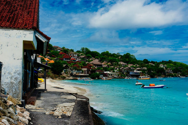 Beach in Nusa, Lembongan