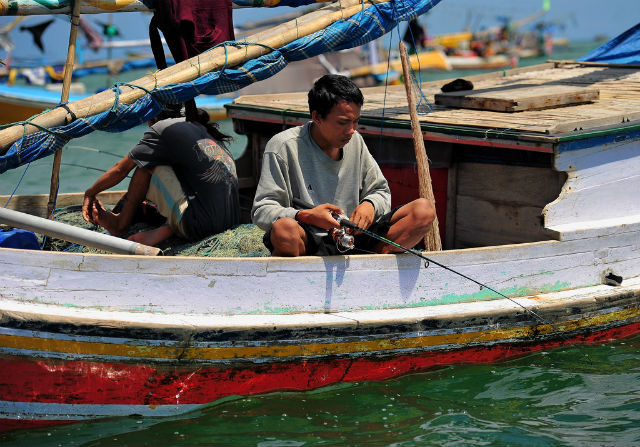 Fishing Trip at Jimbaran, Bali, Indonesia