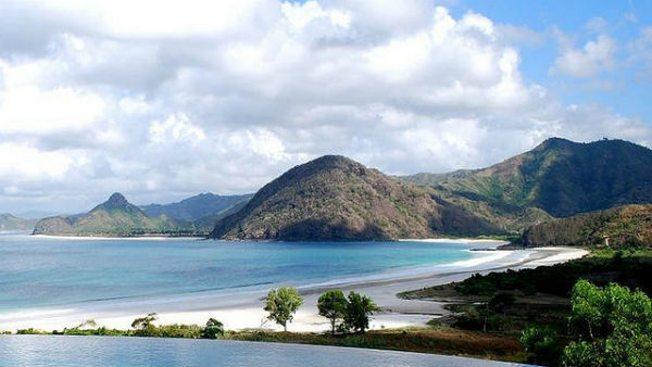 Selong Belanak Beach - Hidden Beautiful Beach in Lombok, Indonesia.