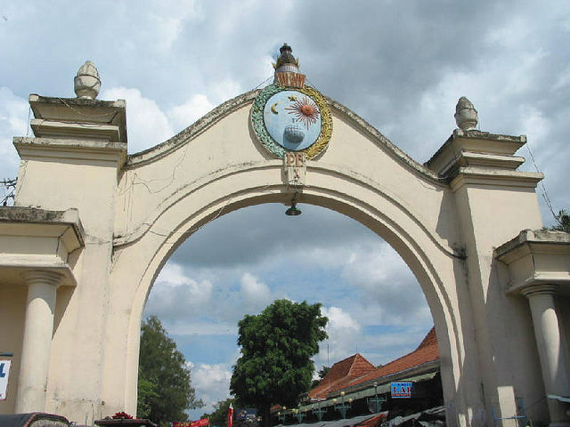 Pasar Klewer in Solo city, Indonesia