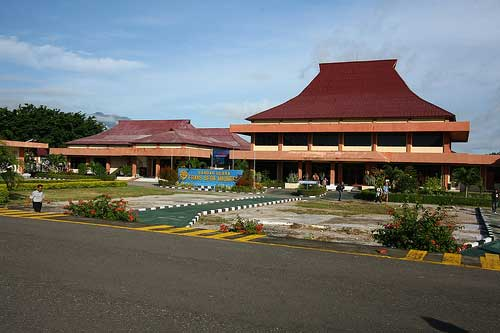 Maumere Airport, Flores, Indonesia