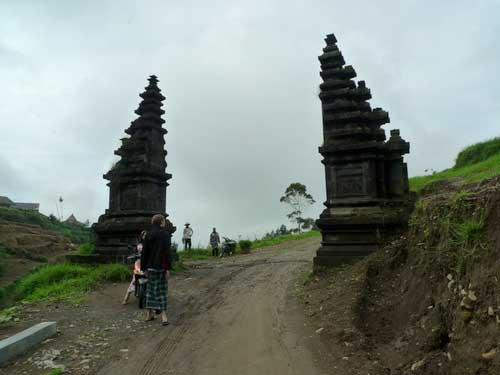 Ancient Structures at Dieng Plateau, Java, Indonesia