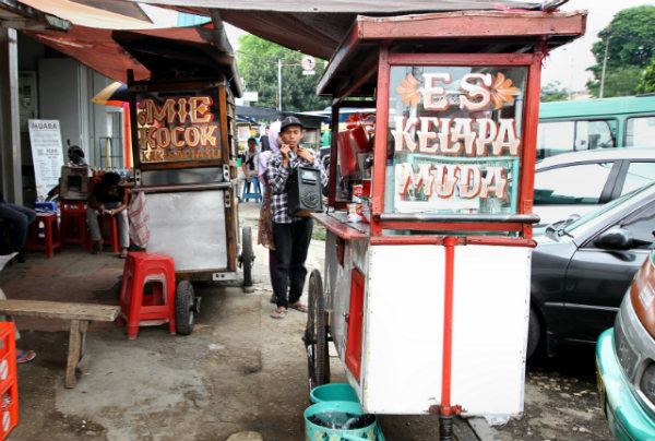 Eating out in Bandungfood, Indonesia
