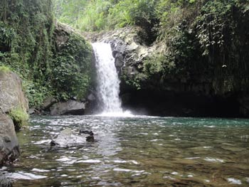 Curug Bayan (waterfall), Banyumas, Java Indonesia