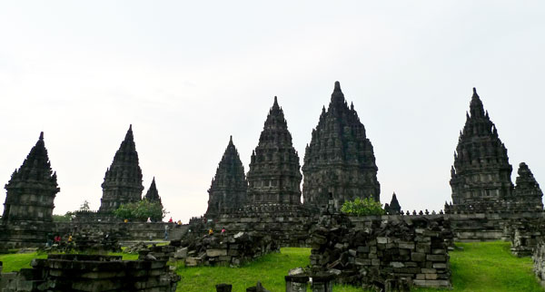Tourist Attraction: Candi Prambanan (temple), Java, Indonesia