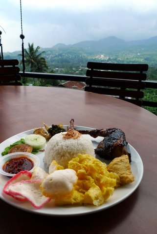 Day trip from Jakarta - Cimory Restaurant