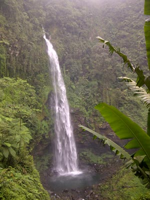 Curug Cipendok (waterfall), Banyumas, Java Indonesia