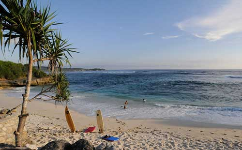 Dream Beach at Nusa Lembongan, Bali, Indonesia
