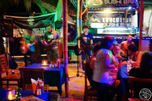 Live Band at Evolution Bar, Gili Trawangan, Indonesia