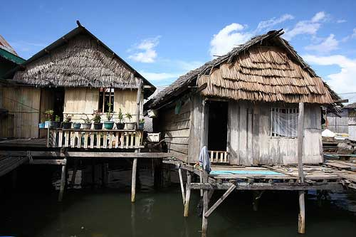 Fishing Villages at Maumere, Flores, Indonesia