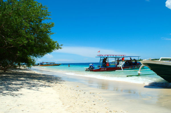 Gili Trawangan, one of the Gili Islands, Indonesia.