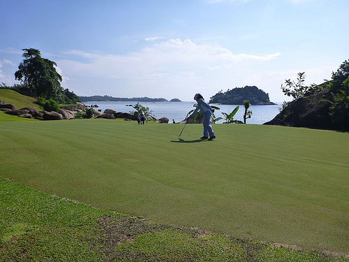 Golf at Bintan Island, Indonesia
