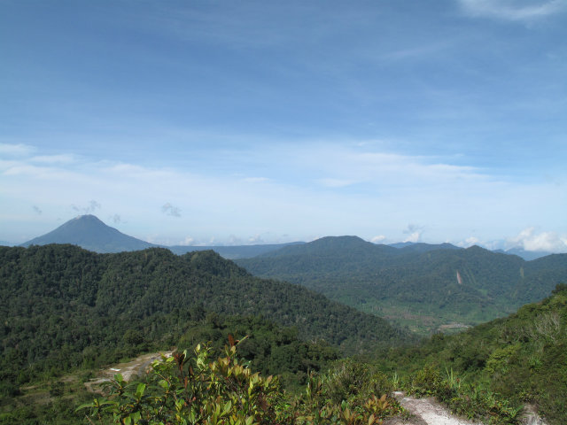 Gunung Sibayak (mountain) at Berastagi, Sumatra, Indonesia