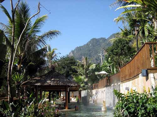 Hot springs, Bali Honeymoon, Indonesia