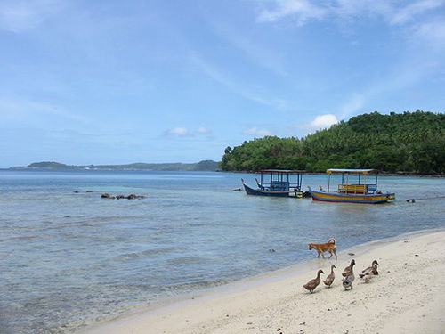 Iboih Beach at Pulau Weh, Sabang, Sumatra, Indonesia