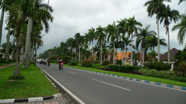 Colonial Ijen Street, Malang, Indonesia