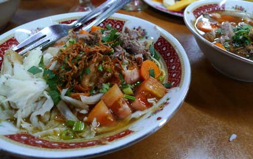 Indonesian Food - Soto Mee