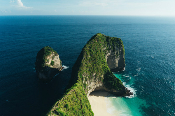 Kelingking, the secret point at Nusa Penida