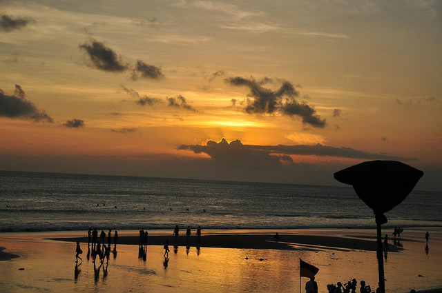 Watching sunset from Ku De Ta, Seminyak, Bali, Indonesia