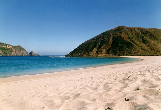 Lombok beach, Indonesia