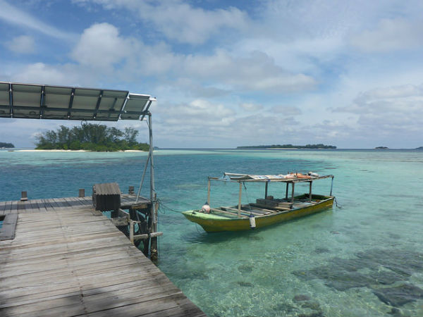 Macan Island, a private paradise.
