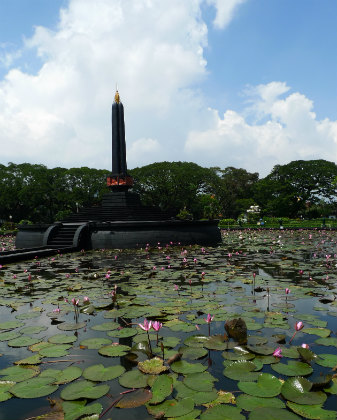 Tugu Bundaran, Malang's monument, Indonesia