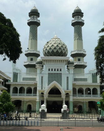 Malang's Great Mosque Jami, Indonesia