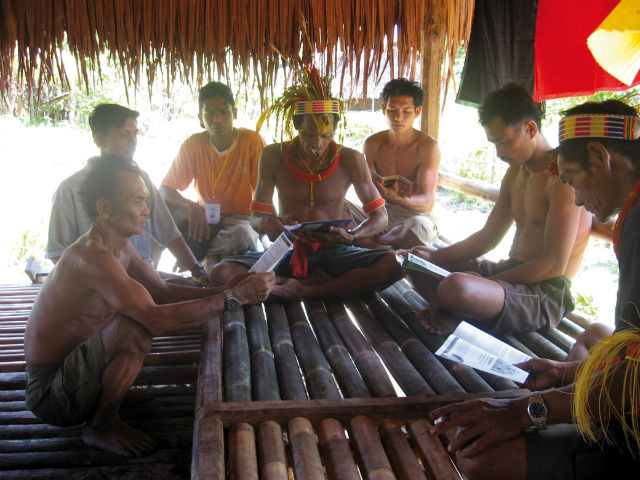 People of Mentawai Islands, Indonesia