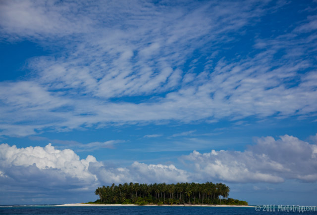 Beautiful view at Mentawai Islands, Indonesia