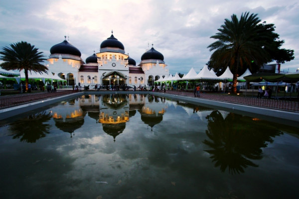 Masjid Mosque Banda Aceh, Indonesia