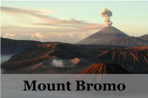 Mount Bromo, Java, hiking