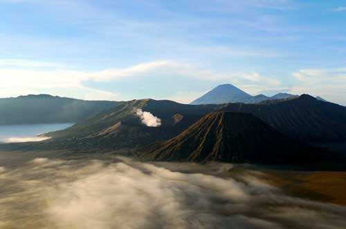 Tourist Attraction:Mount Bromo, Java, Indonesia
