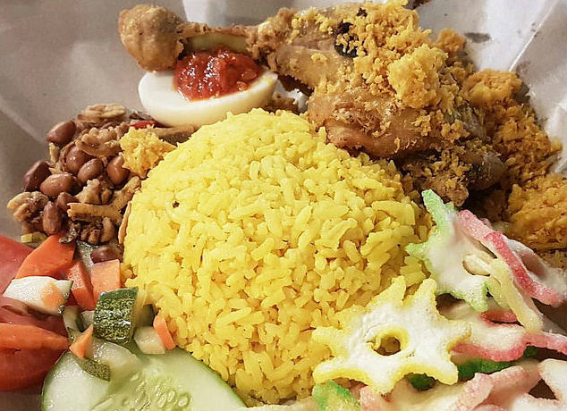 Indonesia Must Eat: Nasi Kuning with Ayam Goreng