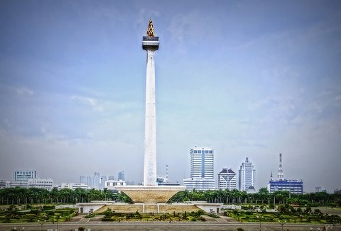 National Monument at Jakarta