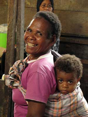 People of Sorong, West Papua, Indonesia