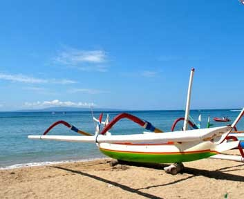 Sanur : The Relaxing Beach Resort Town of Bali