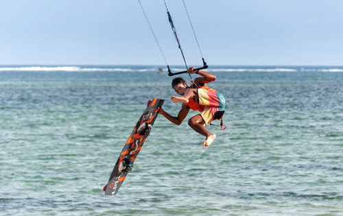 Water sports in Sanur, Bali