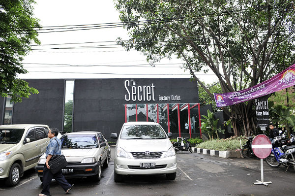 The Secret Factory Outlet at Bandung, Indonesia
