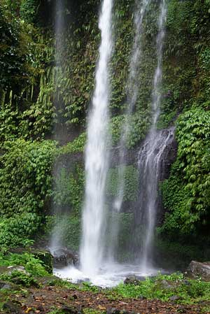 Sendang Gile Waterfall, lombok, indonesia