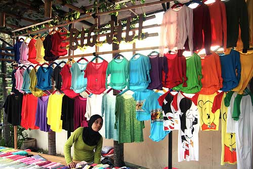 Shopping at Bandung, Java, Indonesia