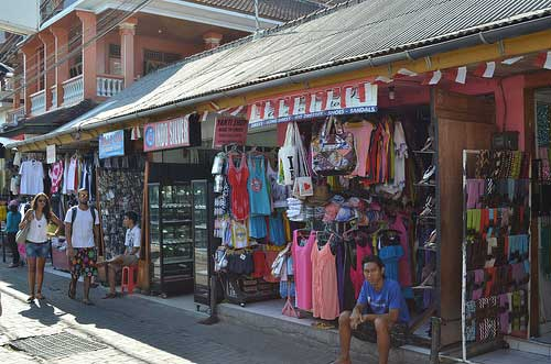 Shopping in Kuta area, Bali