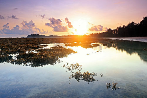 Sunrise at Bintan Island, Indonesia