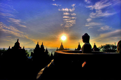 Sunrise Tour at Borobudur Temple at Borobudur Temple