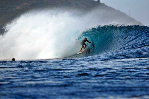 Surf Desert Point, Lombok, Indonesia