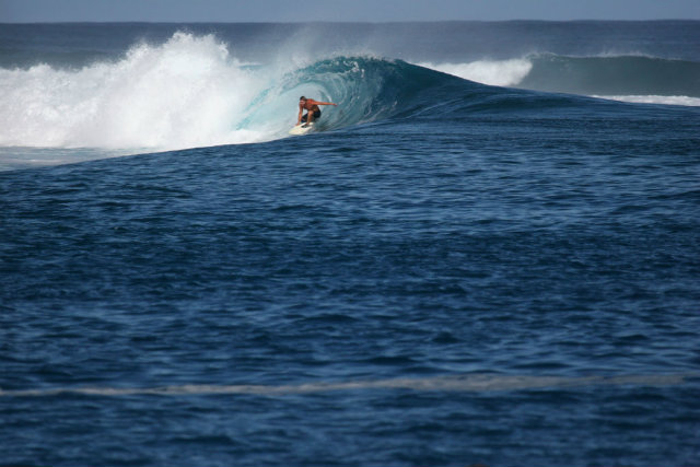 Surfing the waves of Mentawai Islands, Indonesia
