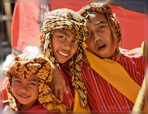Kids, Tana Toraja People