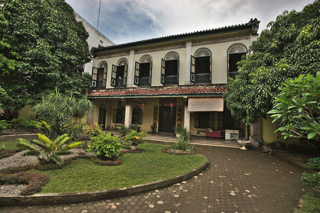 Tjong A Fie Mansion in Medan, Sumatra, Indonesia