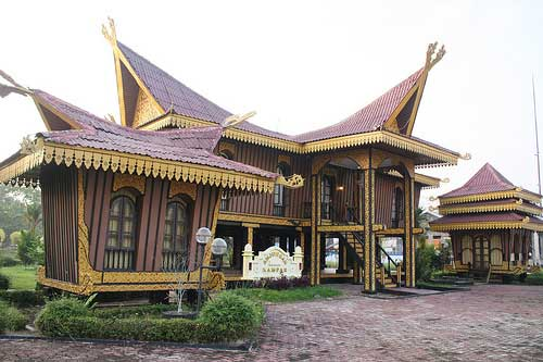 Traditional House @ Pekanbaru, Sumatra, Indonesia