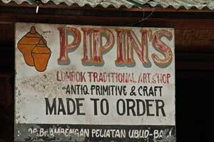 Art Shop in Ubud, Bali