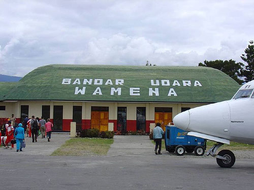 Wamena Airport @ Baliem Valley, Papua, Indonesia